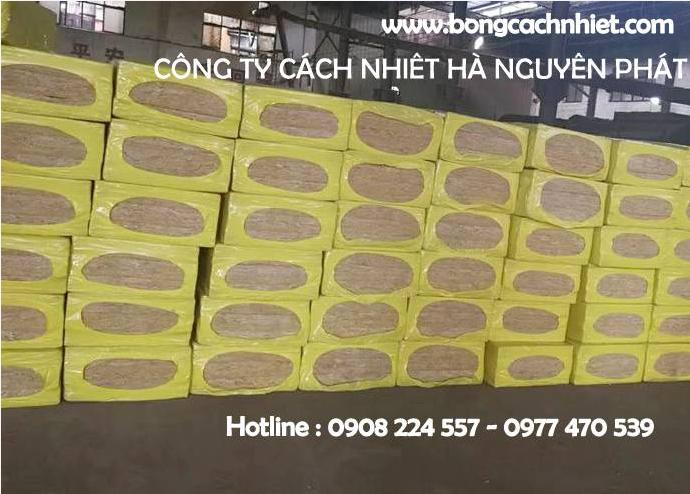 BÔNG SỢI KHOÁNG ( ROCKWOOL TẤM ) 60KG/M3, 80KG/M3, 100KG/M3