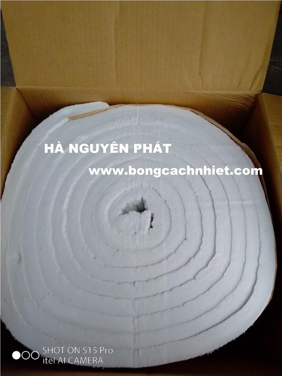CERAMIC FIBER BLANKET  50 T mm x 600 W mm x 3600 L mm